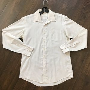 Yves saint Laurent mens button down shirt size15.5